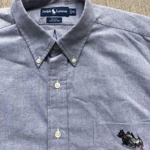 🔥🔥 Vintage Ralph Lauren Polo Yorkies Button Up